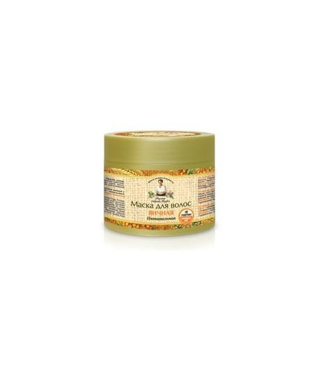 Maska do włosów jajeczna - odżywcza - Receptury Babci Agafii 300ml