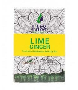 Mydełko z limonką i imbirem - Lass 125 g