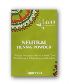 Neutralna Henna do włosów Cassia - Lass Naturals 100 g