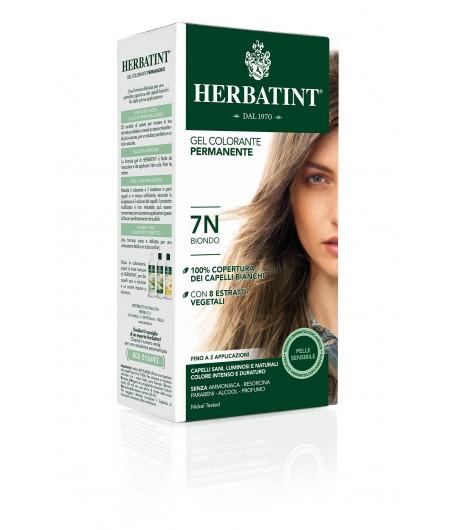 Trwała Farba Herbatint 7N Blond (seria naturalna)