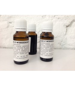 Olej z wiesiołka BIO (Oenothera biennis) - Sunniva Med 20 ml