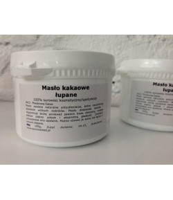 Masło kakaowe łupane (Theobroma Cacao) Bio - Sunniva Med 100 g