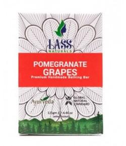 Mydełko regenerujące z granatem i winogronami - Lass 125 g