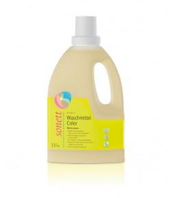 Ekologiczny płyn do prania Kolor - Sonett 1,5 litra