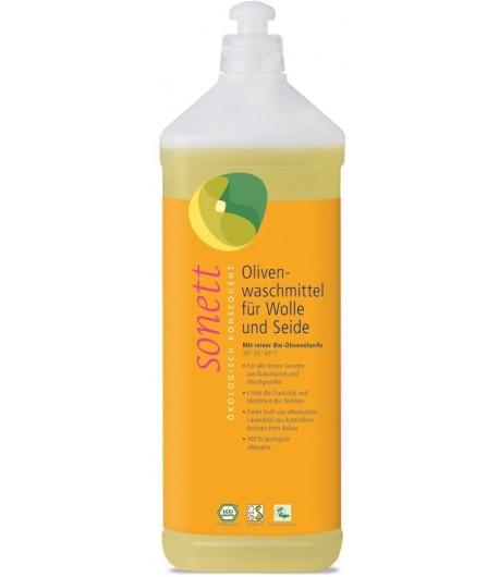 Ekologiczny płyn do prania wełny i jedwabiu - Sonett 1 litr