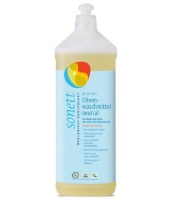 Ekologiczny płyn do prania wełny i jedwabiu Neutral - Sonett 1 litr