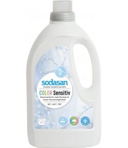 Ekologiczny płyn do prania Color Sensitiv - Sodasan 1,5 l