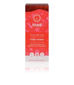 Naturalna Henna RED (ruda) - Khadi 100 g