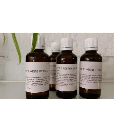 Olej z pestek wiśni ptasiej - czereśni, rafinowany (Prunus Avium) 50ml
