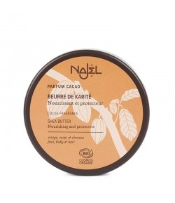 Kakaowe nierafinowane Masło Karite (Shea) BIO - Najel 100 g