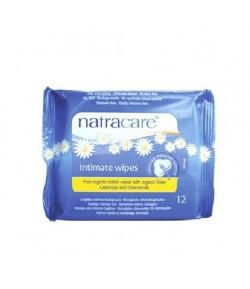 Chusteczki do higieny intymnej - 12 szt NatraCare