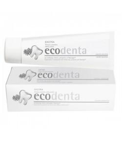 Pasta do zębów extra potrójny efekt z białą glinką, propolisem i TEAVIGO - Ecodenta 100 ml