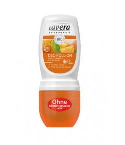Dezodorant roll-on z bio-pomarańczą i bio-rokitnikiem - Lavera 50 ml