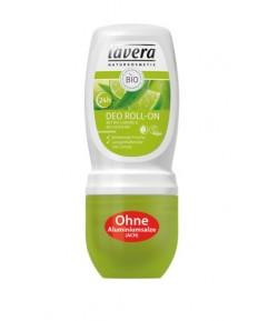 Dezodorant roll-on z bio-limonką i bio-werbeną - Lavera 50 ml