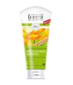 Szampon do włosów normalnych i łamliwych z wyciągiem z bio-nagietka - Lavera 200 ml