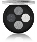 Cienie do powiek - Quattro Smoky Grey 01 - Lavera 3,2 g