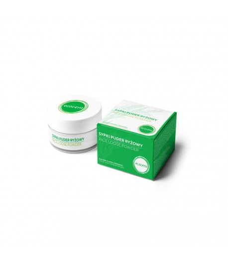 Puder ryżowy fixer - Ecocera 15 g