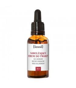 Awokado - serum nawilżająco wygładzające z kwasem hialuronowym - iossi 30 ml