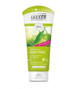 Żel pod prysznic z bio-limonką i bio werbeną - Lavera 200 ml