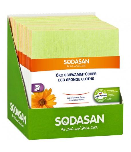 Ekologiczne ściereczki gąbczaste - Sodasan 2 szt.