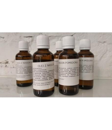 Olej z nasion pomidora - rafinowany (Solanum Lycopersicum) - Sunniva Med 50ml