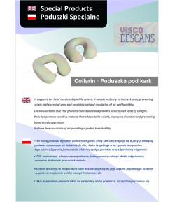 Poduszka pod kark wiskozowo-elastyczna - Visco Descans