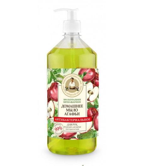 Mydło domowe - Mięta i Jabłko - Receptury Babci Agafii 1000 ml