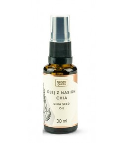 Olej z nasion Chia - Nature Queen 30 ml