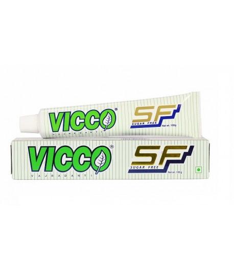 Pasta do zębów Sugar Free, bez cukru i bez fluoru - Vicco 100 g