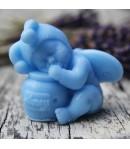 Mydło glicerynowe - Bobas z dzbankiem miodu -niebieski - LaQ 50 g