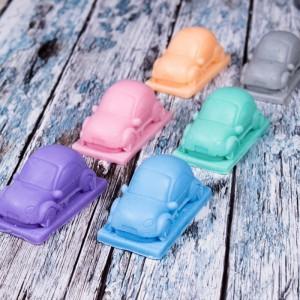 Mydło glicerynowe - Pan samochodzik - fioletowy - LaQ 60 g