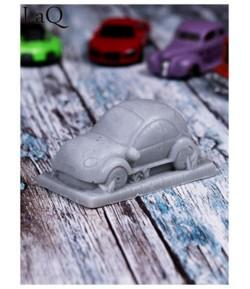 Mydło glicerynowe - Pan samochodzik - szary - LaQ 60 g