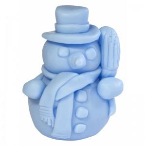 Mydło glicerynowe - Bałwanek - niebieski - LaQ 50 g