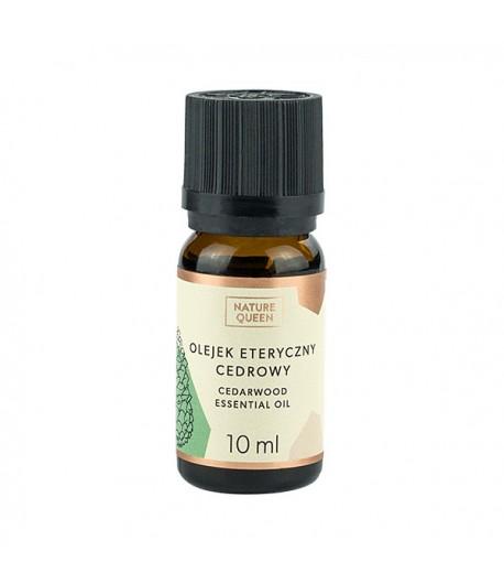 Olejek eteryczny - cedrowy - Nature Queen 10 ml