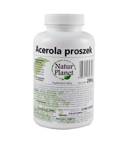 Acerola - proszek - Natur Planet 250 g
