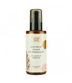 Odżywczy olejek do demakijażu - Nature Queen 150 ml