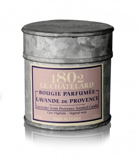 Świeca zapachowa LAWENDA 100 g - LE CHATELARD 1802