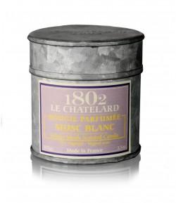 Świeca zapachowa BIAŁE PIŻMO 100 g - LE CHATELARD 1802