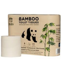 Bambusowy papier toaletowy - ZUZii 6 szt.