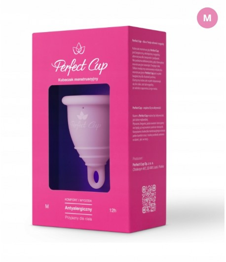Kubeczek menstruacyjny M - jasny róż - Perfect Cup