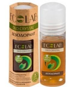 Deo Crystal - dezodorant - 100% naturalny - ałun glinowo - potasowy - EO LAB 50 ml