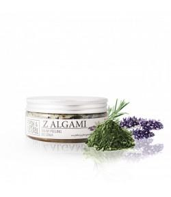 Solny Peeling do ciała z Algami - Fresh&Natural 250g