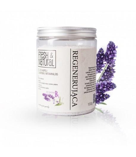 Regenerująca sól do kąpieli z Lawendą i witamina B5 - Fresh&Natural 1 kg