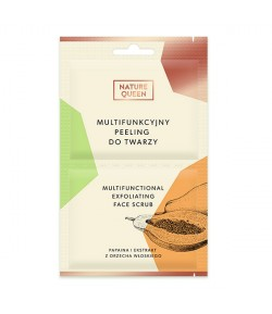 Multifunkcyjny peeling do twarzy - Nature Queen 2 x 6ml