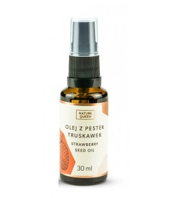 Olej z pestek truskawek - Nature Queen 30 ml