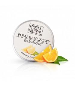 Pomarańczowy balsam do ust - Fresh&Natural 15 ml