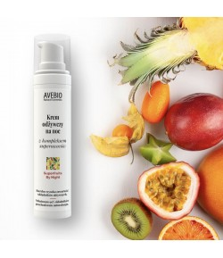 Krem odżywczy na noc z kompleksem superowoców - Superfruits By Night - Avebio 50 ml