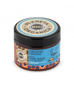 Maska do włosów ORGANIC ARGANA - Planeta Organica 300ml