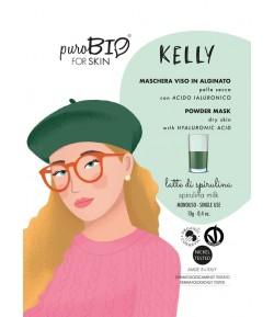 Kelly 09 - maseczka alginatowa PEEL OFF Spirulina do cery suchej - PuroBIO 10ml