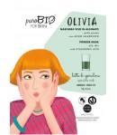Olivia 12 - maseczka alginatowa PEEL OFF Spirulina do cery tłustej - PuroBIO 10ml